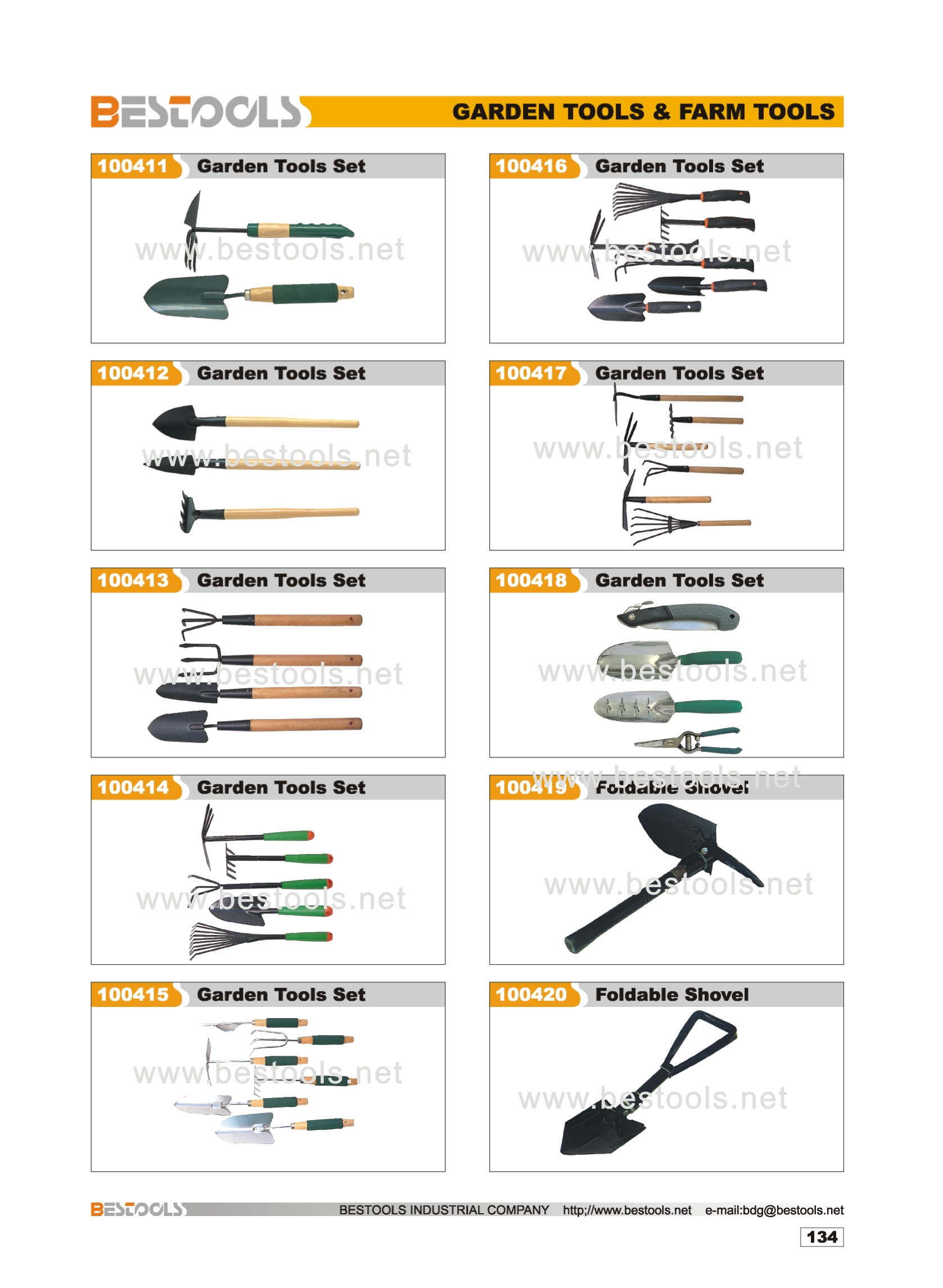Product Name garden tools  NO  10 07  Intro garden tools. BESTOOLS INDUSTRY CO  LIMITED